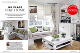 To read the article 'No Place Like Home' on our home featured in the August 2012 edition of 25 Beautiful Homes, please click here