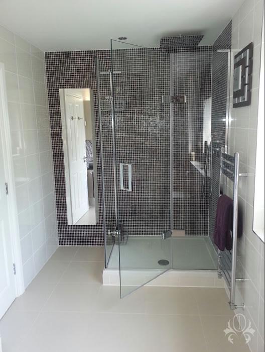 Weybridge surrey interior designer st georges hill bathroom for Bathroom design surrey