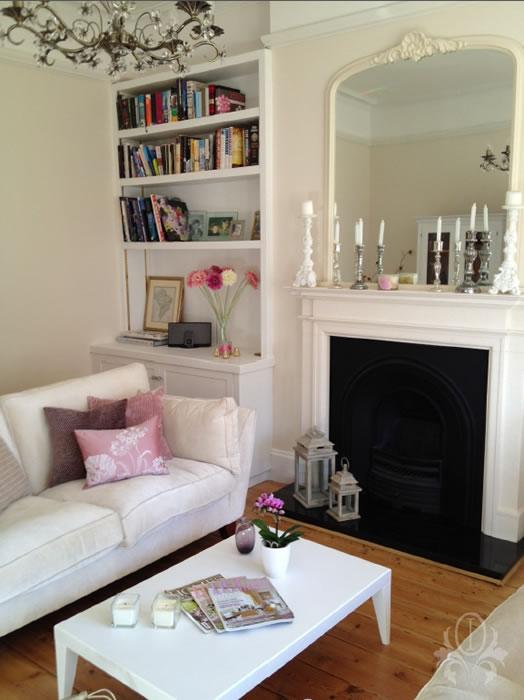 Living room interior design oxshott elmbridge surrey for Interior design ideas for living room uk