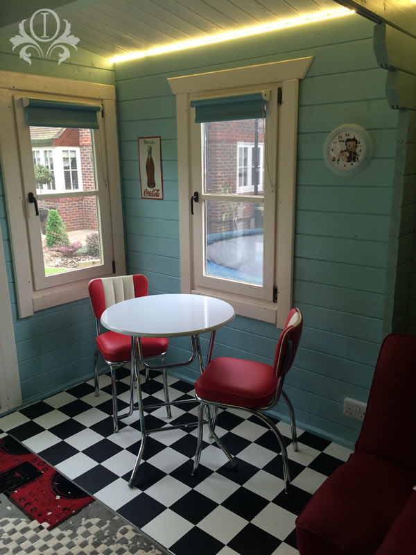 Play House 48s American Diner Design From Outstanding Interiors Inspiration 1950S Interior Design