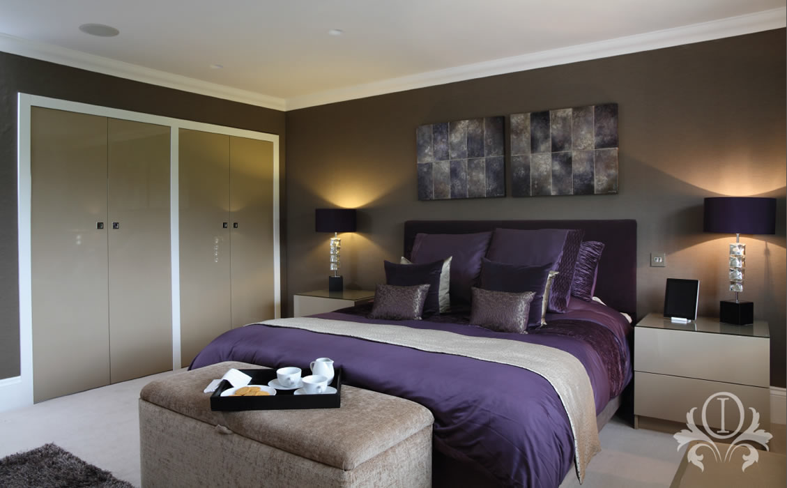 Contemporary Bedroom Design By Outstanding Interiors Of Weybridge Surrey