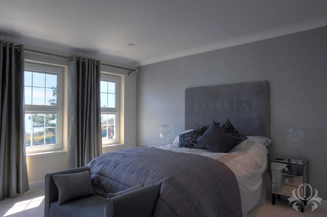 . Bedroom Interior Design Belvedere Home Cobham Surrey
