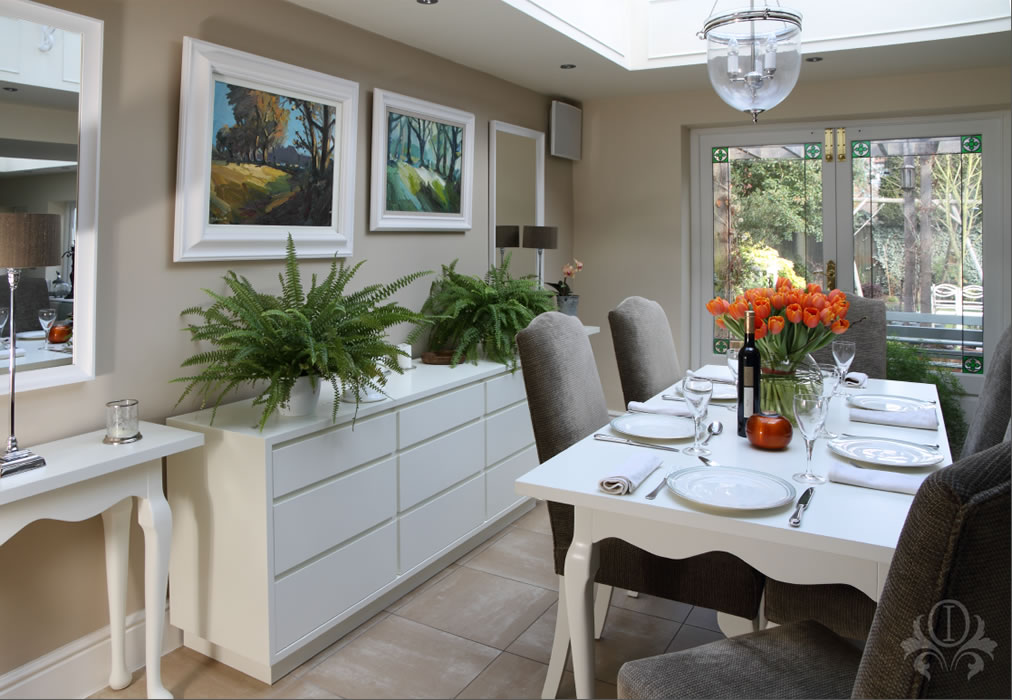 Outstanding interiors interior design for surrey for Dining room interior design ideas uk
