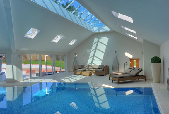 Swimming pool interior design for surrey berkshire for Interior design surrey