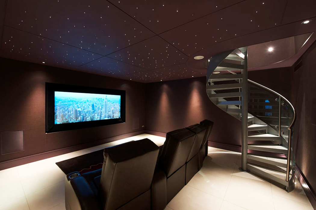 Home Cinema Interior Design Audio Visual Services With